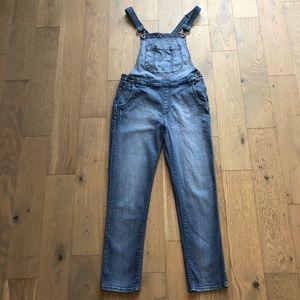 Vans Straight Leg Overall Jeans